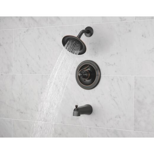 Delta Oil Rubbed Bronze 1-Handle Lever Tub and Shower Faucet