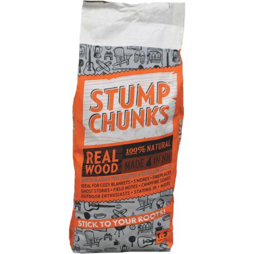 Stump Chunks 1.5 Cu. Ft. Kindling and Fire Starter