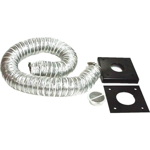 England's Aluminum 6 Ft. Outside Air Pellet Kit