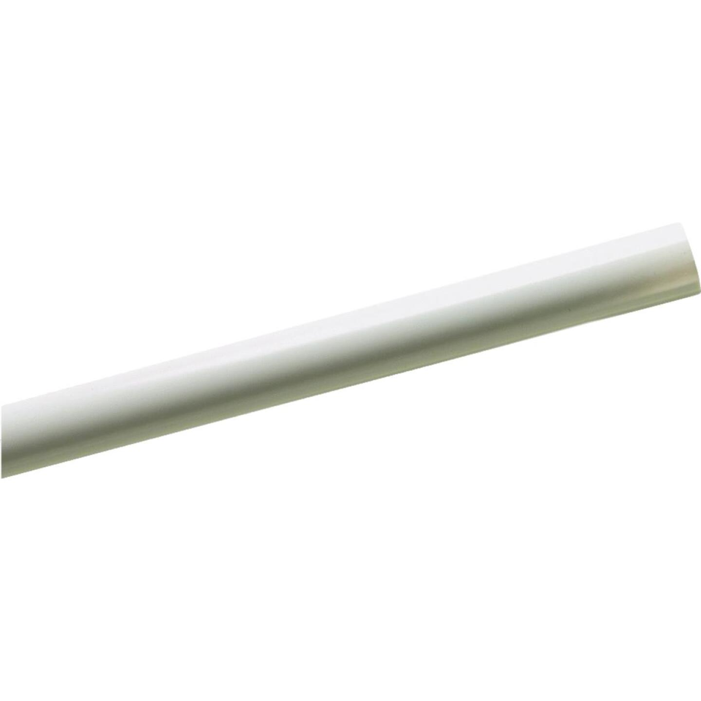 Zenith 60 In. White Shower Rod Cover Image 1