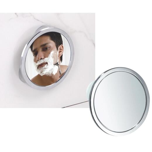 InterDesign Zia 5.75 In. Dia. Fog-Free Mirror